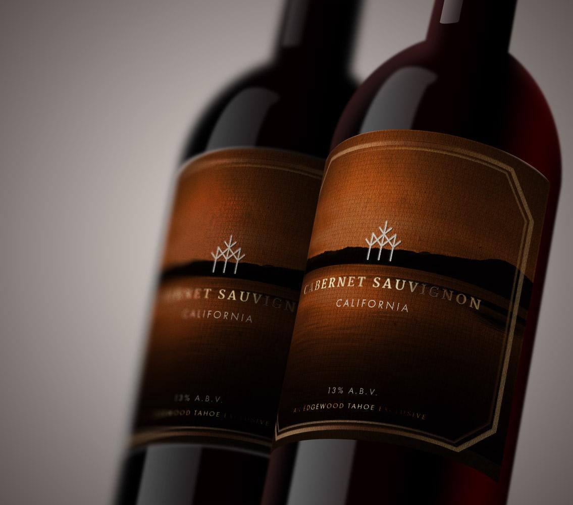 Edgewood Tahoe Wine Label