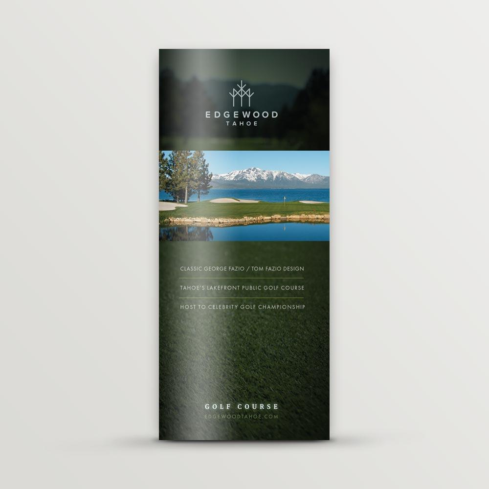 Edgewood Tahoe golf brochure