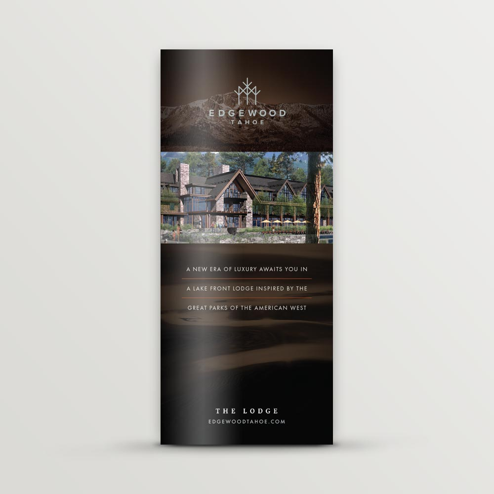 Edgewood Tahoe lodge brochure