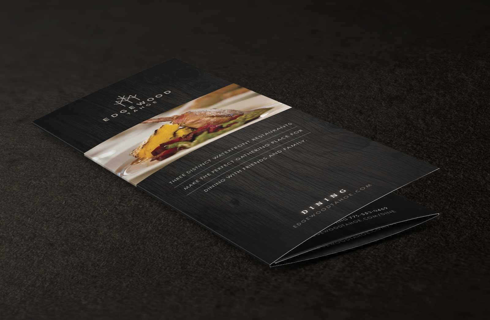 bistro brochure cover