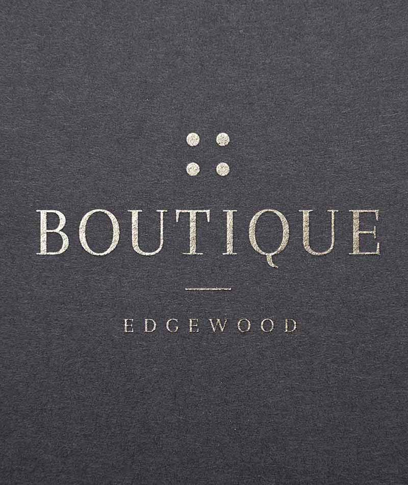 boutique edgewood logo mobile