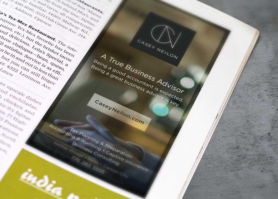 casey neilon print advertising
